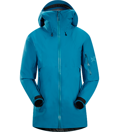Scimitar Jacket Women's Waterproof, breathable GORE-TEX® jacket, designed with snowsport-specific features for big mountain adventures both on and off piste.