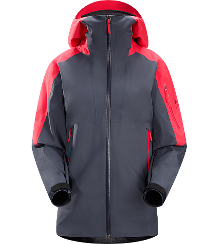 Sentinel Jacket Women's Relaxed fitting, waterproof, breathable GORE-TEX® jacket with helmet compatible StormHood™ and a Slide 'n Loc™ snap system links the integrated powder skirt to pants in deep snow.