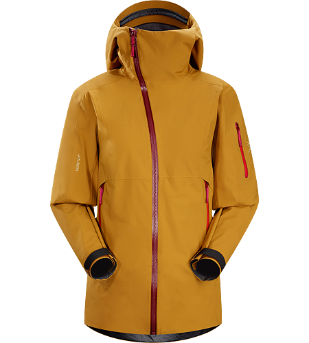 Sidewinder Jacket Women's Tough waterproof hardshell jacket with StormHood™. Sidewinder front zipper curves away from your face.