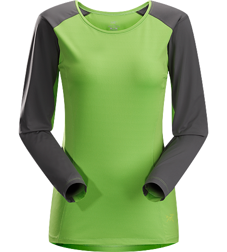Skeena LS Women's Lightweight, moisture-wicking, durable long-sleeved shirt designed with two distinctive technical fabrics to keep you cool and dry on the trail.