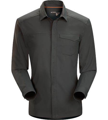 Skyline Shirt LS Men's Super light, breathable long sleeve shirt with a standard button collar and a soft hand, perfect for warm, summer days.