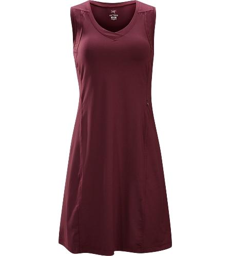 Soltera Dress Women's Leichtes, atmungsaktives ärmelloses Kleid; ideal für Reiseabenteuer in warmen Klimazonen.