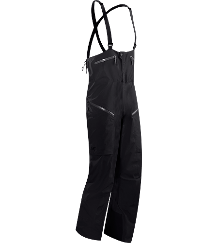 Stinger Bib Men's Durable and waterproof bib pant, patterned for gender specific articulation, and designed a higher bib, large volume thigh pockets, and an enhanced fit.