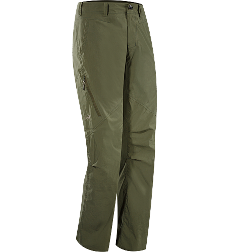 Stowe Pant Men's Relaxed fit, breathable and durable cargo pant constructed with lightweight cotton/nylon textile with a hint of stretch; ideal for travelling, providing all day comfort.