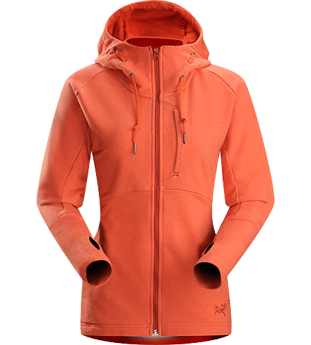 Tarsa Hoody Women's Casually-styled hoody with a touch of spandex for freedom of movement