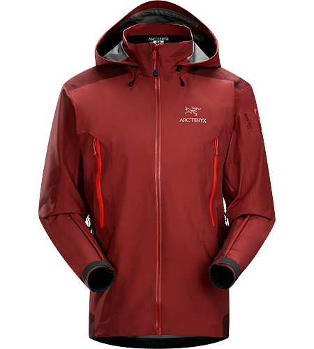 Theta AR Jacket Men's Theta Series: All-round mountain apparel with increased coverage | AR: All-Round. Lightweight and versatile GORE-TEX® jacket, features a tall collar with a DropHood™.