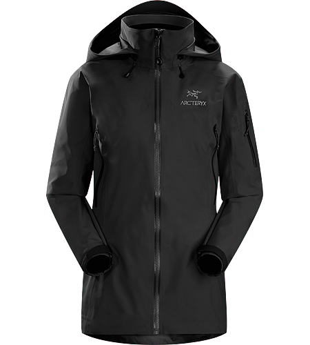 Theta AR Jacket Women's Theta Series: All-round mountain apparel with increased coverage | AR: All-Round. Lightweight and versatile GORE-TEX® jacket, features a tall collar with a Drop Hood™.
