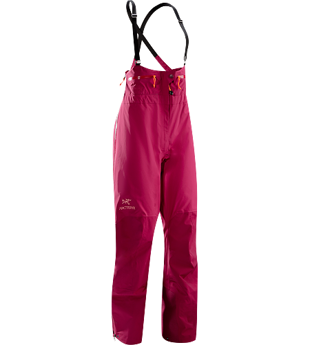 Theta SV Bib Women's Theta Series: All-round mountain apparel with increased coverage | SV: Severe Weather. High waisted, waterproof and durable GORE-TEX® bib pant, designed specifically for women.