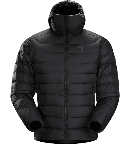 Thorium AR Hoody Men's <strong>Down Series: Down insulated garments | AR: All-Round. </strong>Generalist down hoody made from durable face fabrics and 750 fill grey goose down. Functions as a warm mid layer or standalone piece for cool, dry conditions.
