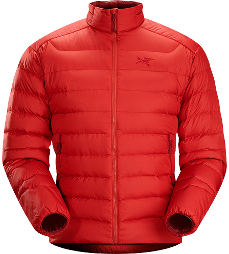Thorium AR Jacket Men's Down Series: Down insulated garments | AR: All-Round. Generalist down jacket made from durable face fabrics and 750 fill grey goose down. Functions as a warm mid layer or standalone piece for cool, dry conditions.
