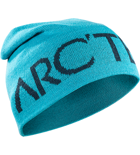 Word Head Long Toque Longer length wool/acrylic mix toque with bold knitted Arc'teryx word logo