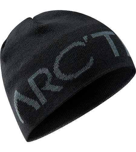 Word Head Toque Stylish wool/acrylic mix toque with bold knitted Arc'teryx word logo.