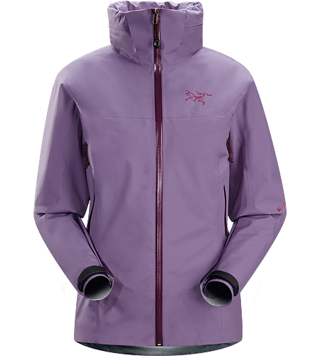 Zeta AR Jacket Women's Lightweight, waterproof GORE-TEX® jacket with a hood that stows away into the collar