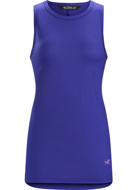 A2B Tank Women's Versatile performance polyester/wool women's knit tank for everyday living and urban commuting