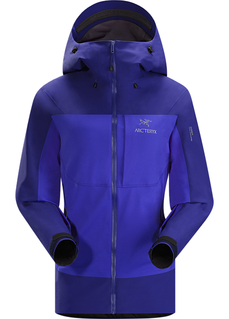 Alpha Comp Hoody Women's Composite construction jacket with versatile thermal management and zonal weather protection in a single garment. Alpha Series: Climbing and alpine focused systems.