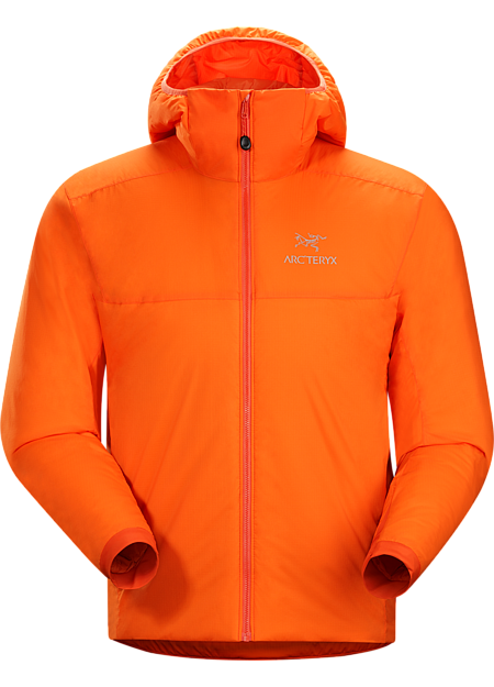 Atom AR Hoody Men's This versatile Coreloft™ insulated hoody functions as an outer layer in cold, dry conditions or as a mid layer in cold, wet conditions. Atom Series: Synthetic insulated mid layers | AR: All-Round.