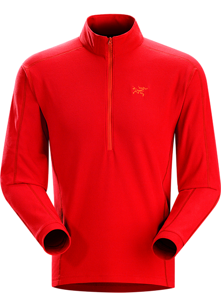 Delta LT Zip Neck Men's Compact half zip micro fleece pullover that performs as a cold weather base layer and shoulder season midlayer. Delta Series: Mid layer fleece | LT: Lightweight.