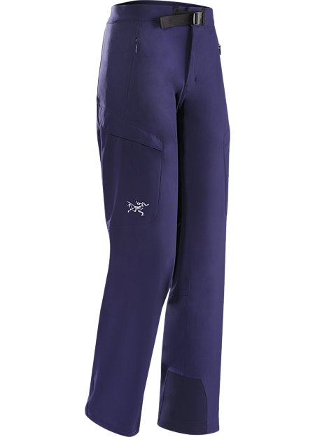Gamma MX Pant Women's Lightly insulated, breathable soft shell pant with DWR durable water repellent treatment to resist light moisture; ideal for alpine and expedition climbing. Gamma Series: Softshell outerwear with stretch | MX: Mixed Weather.