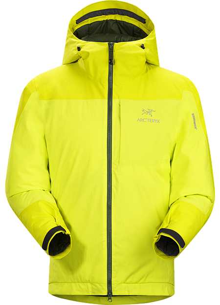Kappa Hoody Men's Highly insulated, windproof, breathable jacket constructed with enhanced WINDSTOPPER® fabric with a softer face, and reinforced shoulders and arms; ideal for active pursuits in freezing weather. Kappa Series: Insulated windproof outerwear.