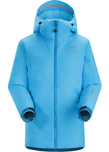 Kappa Hoody Women's Highly insulated, windproof, breathable jacket; ideal for active pursuits in freezing weather. Kappa Series: Insulated wind resistant outerwear.