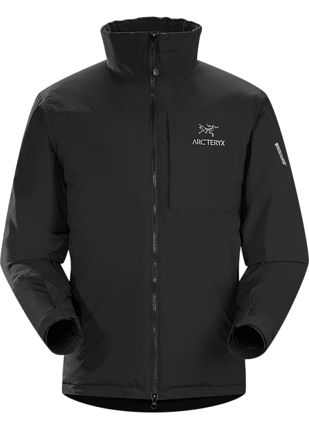 Kappa Jacket Men's Highly insulated, windproof, breathable jacket constructed with enhanced WINDSTOPPER® fabric with a softer face, and reinforced shoulders and arms, ideal for active pursuits in freezing weather. Kappa Series: Insulated wind resistant outerwear.