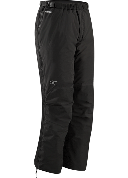 Kappa Pant Men's Highly insulated, windproof, breathable pants constructed with WINDSTOPPER® fabric with a softer face; ideal for active pursuits in freezing weather. Kappa Series: Insulated wind resistant outerwear.