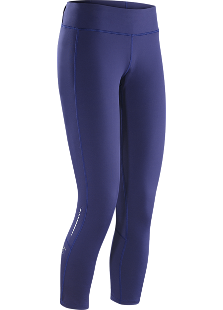 Kapta Crop Tight Women's Women's ventilated warm weather training tight made from Suncore™ stretch knit for air permeability, sun protection and stretch.