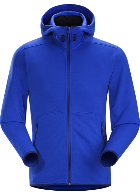 Lorum Hoody Men's Low profile, technical hoody is an excellent mid-layer for hard working days.
