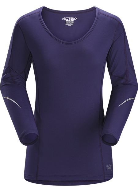 Motus Crew LS Women's Lightweight, versatile long sleeve crewneck provides superior moisture wicking performance to regulate body temperature during high output activities.