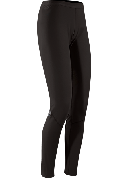 Phase AR Bottom Women's Moisture-wicking base layer bottom, constructed using odour-control fabric; ideal as mid-level insulation during stop-and-go activities. Phase Series: Moisture wicking base layer | AR: All-Round.