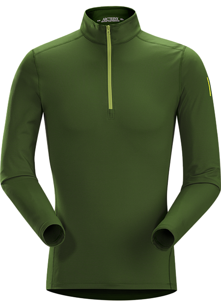 Phase AR Zip Neck LS Men's Lightly insulated, zip-neck base layer, designed for use during aerobic activities in cooler conditions. Phase Series: Moisture wicking base layer | AR: All-Round.