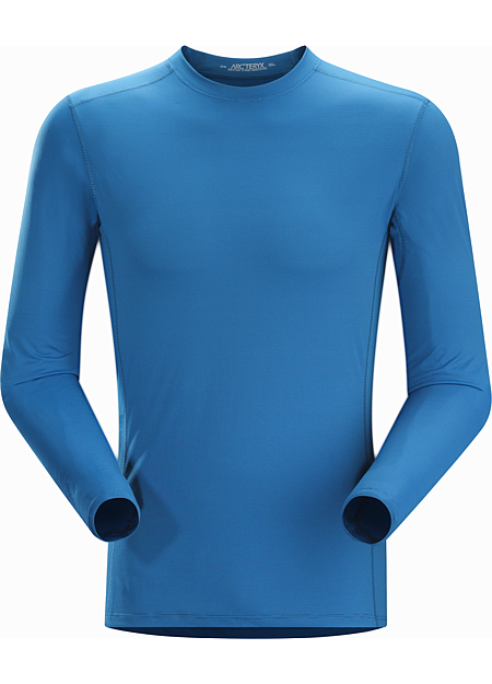 Phase SL Crew LS Men's Moisture-wicking base-layer; Ideal as lightweight insulation layer during aerobic activities. Phase Series: Moisture wicking base layer | SL: Superlight.