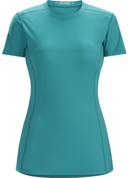 Phase SL Crew SS Women's Moisture-wicking base-layer; ideal as lightweight insulation layer during aerobic activities. Phase Series: Moisture wicking base layer | SL: Superlight.