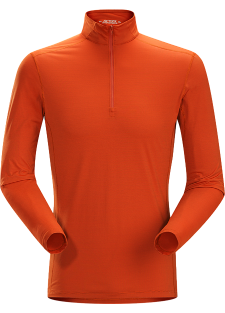 Phase SL Zip Neck LS Men's Moisture-wicking base-layer with zip neck; Ideal as lightweight insulation layer during aerobic activities. Phase Series: Moisture wicking base layer | SL: Superlight.