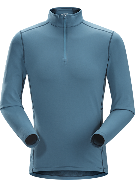 Phase SV Zip Neck LS Men's Moisture-wicking base layer zip neck top; Ideal as mid-level insulation during stop-and-go activities. Phase Series: Moisture wicking base layer | SV: Severe Weather.