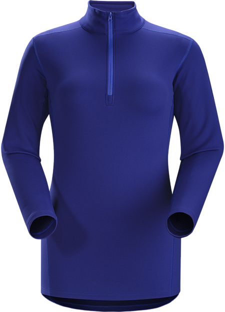 Phase SV Zip Neck LS Women's Moisture-wicking base layer; ideal as mid-level insulation during stop-and-go activities. Phase Series: Moisture wicking base layer | SV: Severe Weather.