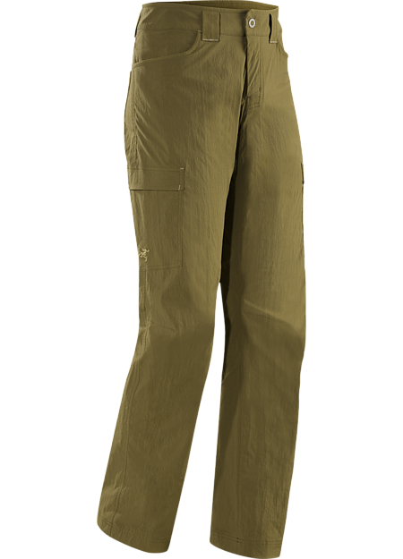 Rampart Pant Men's Lightweight, air permeable TerraTex™ nylon trekking pants patterned for maximum mobility. Redesigned for Spring 2016 with an updated fit and style.