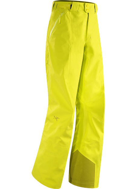 Stingray Pant Men's Waterproof GORE-TEX® with 3L softshell construction pants, ideal for all around skiing and snowboarding.