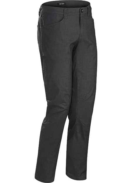 A2B Commuter Pant Men's Trim-fitting pants easily transition from the urban bike commute to daily living.