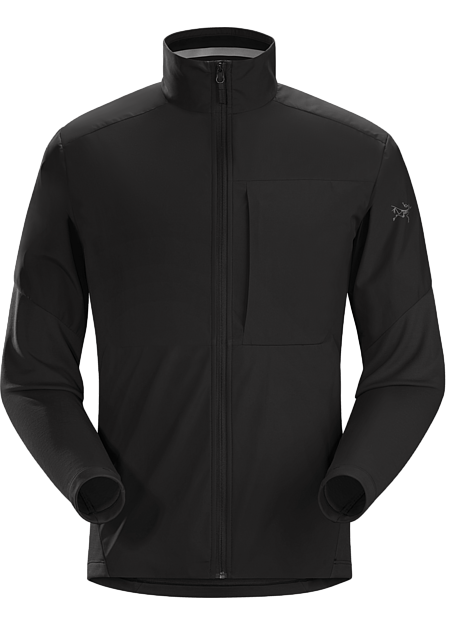 A2B Comp Jacket Men's GORE® WINSTOPPER® and Velolain™ fleece combine in a jacket for urban cyclists.