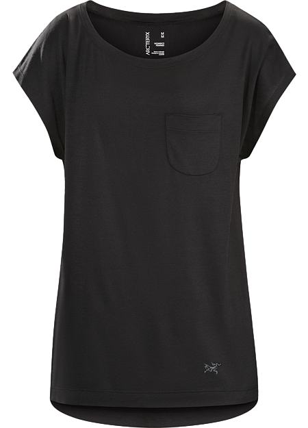 A2B Scoop Neck Shirt SS Women's Comfortable wool blend top for the urban bike commute and everyday living.