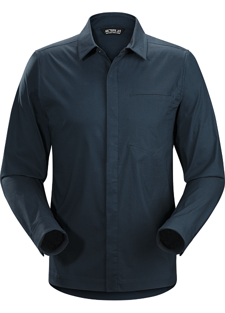 A2B Shirt LS Men's Button down shirt for the urban bike commute.