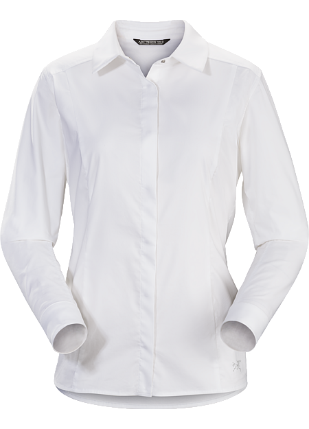 A2B Shirt LS Women's Button down shirt for the urban bike commute.