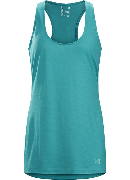 A2B Tank Women's Versatile wool blend tank for urban cycling and off-bike living.