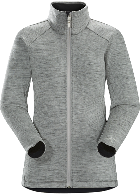 A2B Vinta Jacket Women's Performance Merino blend midlayer for bike commutes and urban living.