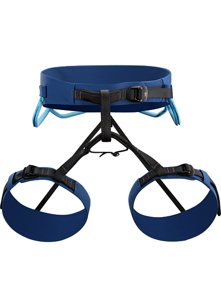 AR-395a Harness Men's AR: All Around. Extremely versatile adjustable leg harness that excels for sport, trad, alpine, mixed or ice climbing.
