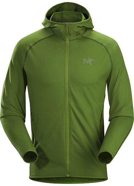 Adahy Hoody Men's Versatile stretch fleece hoody performs as a midlayer or standalone.