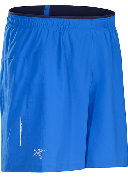 Adan Short Men's Superlight, quick drying, stretch performance short with built in brief, small side split, and stash security pocket. Designed for high output mountain training and running.