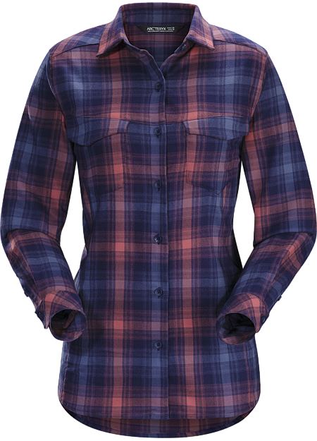 Addison Shirt LS Women's Women's soft performance flannel shirt with casual styling and three season warmth.