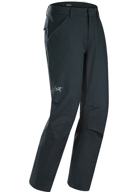 Alden Pant Men's Fall weight pant with a trim fit and urban style in a versatile cotton and wool blend.